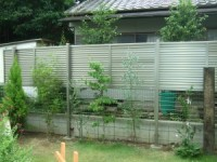2段目隠しフェンス
